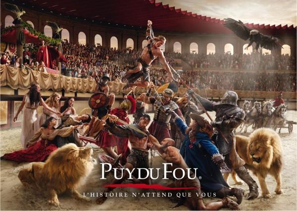 Ouverture du Puy du Fou en Vendée