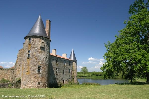 Chateau de la Greve en Vendée saint martin des noyers