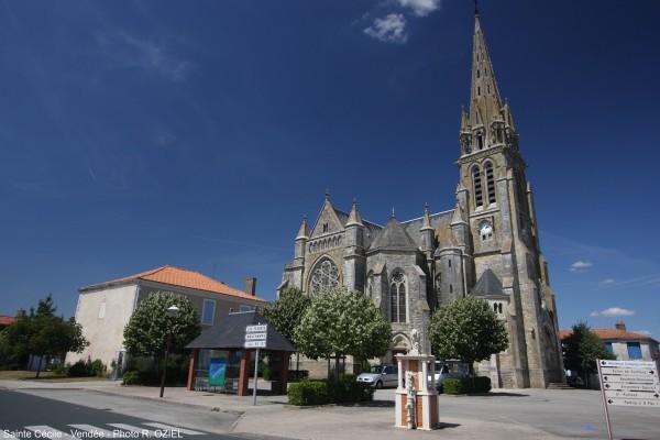 Eglise de Sainte Cécile